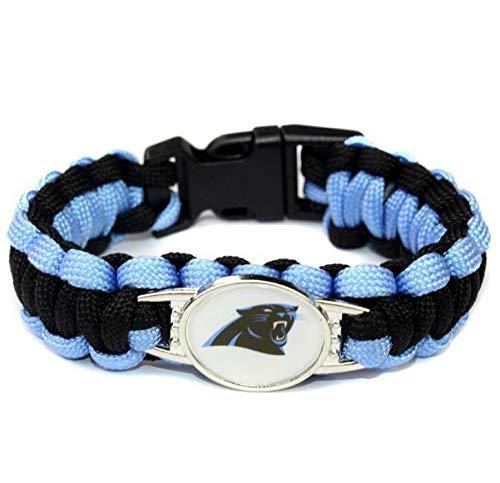 es Armband Fußball Fans Geschenk, Carolina Panthers 1pcs ()