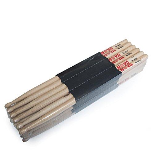nova-vf-n7a-by-vic-firth-wood-tip-drum-sticks-12-pair-brick-bundle