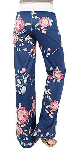 Smile Fish Damen Hose Blau