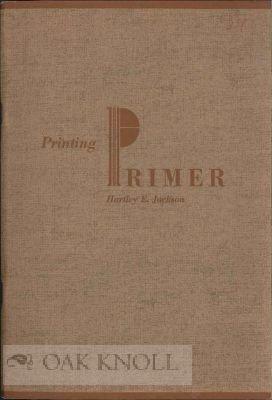 Printing primer: Instruction sheets in printing;