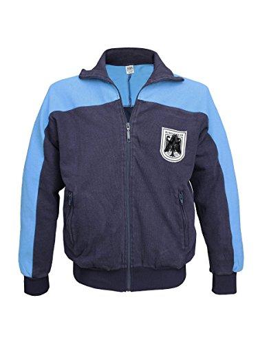Bundeswehr Trainingsjacke blau gebraucht Größe 50