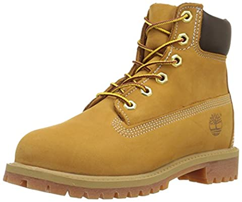 Timberland 6 Inch Classic FTC_Premium WP 14949 Unisex-Kinder Stiefel, Beige