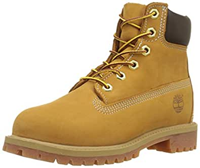 Timberland Unisex-Child Classic Boots, wheat, 4 UK Toddler