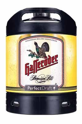 1 Fass Perfekt Draft Hasseröder a 6 Liter Pils inc. Pfand