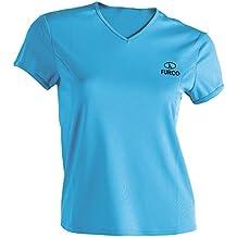 Furco Parma - Camiseta térmica para mujer, color azul claro, talla S