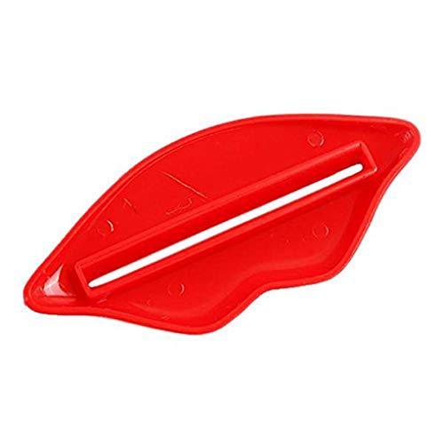 Pegcduu 20Pcs / Set Labios de baño Pasta de Dientes Squeezer squeezerfacial Espuma Facial Tubo de Espuma Mildy de la Ropa Interior de Tubo dispensador del exprimidor de Color al Azar