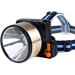 Phares puissants Plongée Haute Puissance Charge LED Lampe de Mineur Pêche de Nuit en Plein air Alpinisme Phares (Taille : 5.5cm)