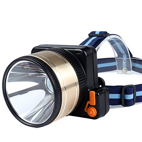 TMY KOPFLAMPE High-Power Tauch wiederaufladbare Scheinwerfer, LED Outdoor-Long-Range Miner\'s Lampe, Camping Bergsteigen kann tauchen