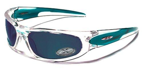 X-Loop Lunettes de Soleil - Sport - Cyclisme - Ski - Mode - Conduite - Moto - Plage / Mod. 1002 Noir / Taille Unique Adulte / Protection 100% UV400 kQGnfaERa