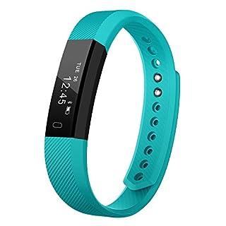 AndThere Fitness Tracker Smart Watch Pedometer Wristband Activity Trakcer Distance Steps Calorie Counter Sleep Monitor Smart Bracelet