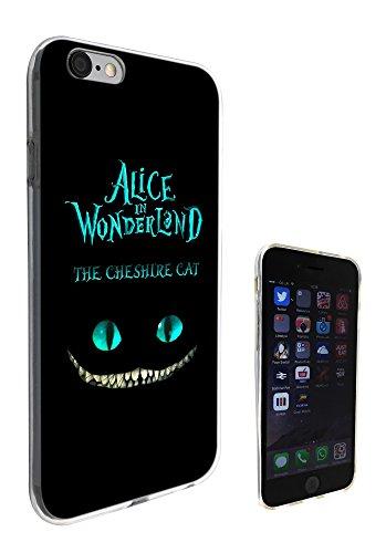 Coque en silicone gel Motif Alice au pays des merveilles Chat du Cheshire pour iPhone 5/5S