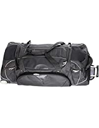 Dermata Reisetasche mit Rucksackfunktion Reisetrolley Reiserucksack mit Rollen