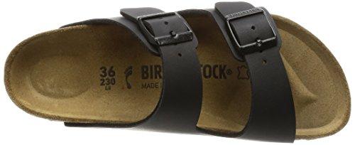 Birkenstock Arizona, Sandales Bout Ouvert Mixte Adulte Noir (Anthracite)