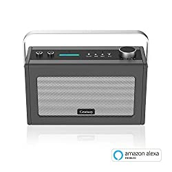 Century Smart Wi-Fi Speaker with Alexa Voice Control | Bluetooth | Internet Radio | Smart Home Control | Multi-Room | News and Sport updates (Charcoal)