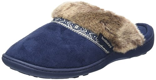 isotonerpillowstep-with-fur-cuff-and-tape-trim-pantofole-donna-blu-blu-navy-36-2-3