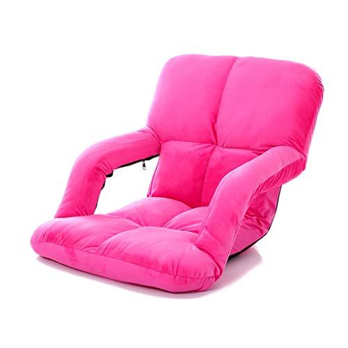 Deckchairs Möbel/Gartenmöbel & Zubehör/Sessel, Stühle & S Lazy Couch Pinker Lazy Chair Tatami Sessel Mit Armlehnen Pflegestuhl Faltbar...