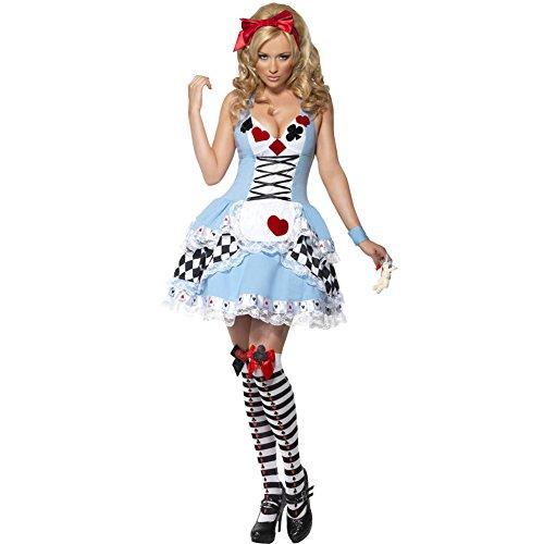 Weihnachtsmärchen Partei Alice Prinzessin Kostüm-Abend Maid Cosplay Kleid-Ausstattung ()