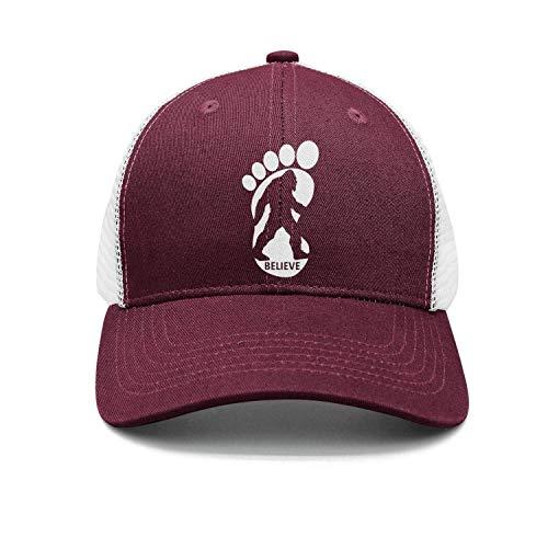 squatchAdjustable Unisex Baseball Deckel Cool Design Hat Cotton Denim Deckel Unisex17 ()