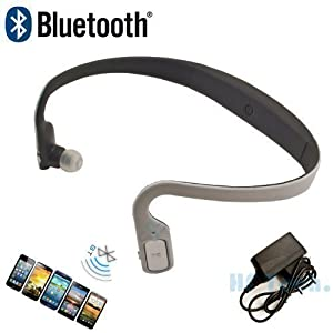 hf universal bluetooth headset stereo kopfh rer 602 kabellos drahtlos weiss handy iphone 4 4s 5. Black Bedroom Furniture Sets. Home Design Ideas