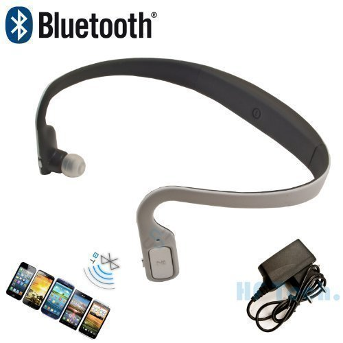 HF Universal Bluetooth Headset Stereo Kopfhörer 602 Kabellos drahtlos Weiss Handy iPhone 4 4S 5 5S 6 plus iPad 3 4 air mini Samsung S3 S4 Note 1 2 HTC one Sony Blackberry Nokia LG Sony
