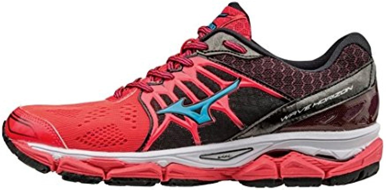 Mizuno Zapatillas de running wave Horizon (rosa/azul), 38 EU