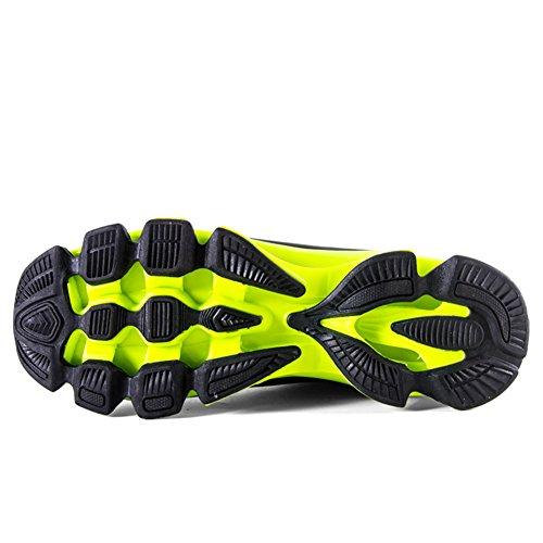 Casuel chaussure basses sneakers mulitsport antichoc homme Vert