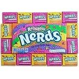 Wonka Regenbogen Nerds - Amerikanische Süßigkeit, 141g Geschenkbox