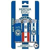 Hertha BSC Berlin Feuerzeug | Elektronikfeuerzeug 3 Stück im Set