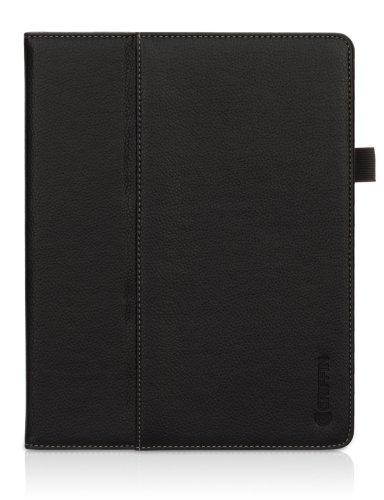 Griffin Elan Folio Crackled für Apple iPad 3/iPad 2 schwarz Griffin Elan Folio