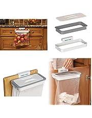 Alfa Mart Cupboard Hanging Trash Garbage Bag Holder | Hanging Kitchen Dustbin, Fits on All Drawer & Cabinet (Plastic)