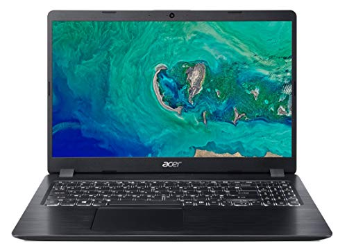 "Acer Aspire 5 A515-52K-381P Ordinateur portable 15, 6"" HD Noir (Intel Core i3, 4 Go de RAM, SSD 256 Go, Intel HD Graphics, Windows 10)"