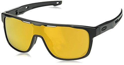 Oakley Herren CROSSRANGE SHIELD 938706 31 Sonnenbrille, Schwarz (Matte Black),