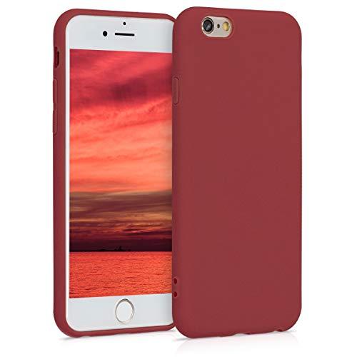 kwmobile Apple iPhone 6 / 6S Hülle - Handyhülle für Apple iPhone 6 / 6S - Handy Case in Kastanienrot