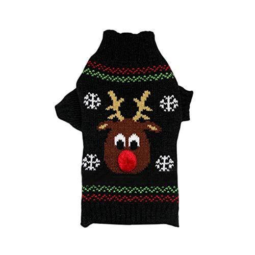 Dobbi Haustier Hunde Herbst Winter Sweater Dog Warme Costume Welpen Jumpsuit Dicke Sweatshirt Hundemantel Cute Cartoon Hundebekleidung Pet Outwear Wintermäntel Puppy Komfortabel Kostüme