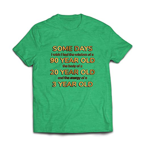 lepni.me Männer T-Shirt Kluges, sexy und energisches lustiges Zitat (X-Large Heidekrautgrün Mehrfarben)