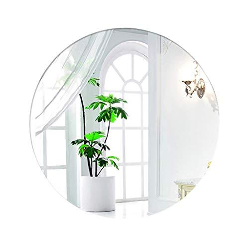 HD Vanity Mirror Round Wand hängenden Spiegel Dekor rahmenlose Kreis Wand-Make-up-Spiegel für Eingangsbereiche Waschräume Badezimmer, 15,7-27,5 Zoll (Rahmenlose Badezimmer Spiegel)