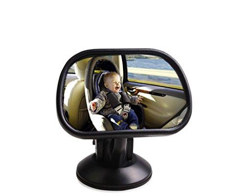 Miroir de voiture rétroviseur voiture observation de l'enfant miroir voiture après le miroir bébé lentille auxiliaire voiture miroir d'observation bébé