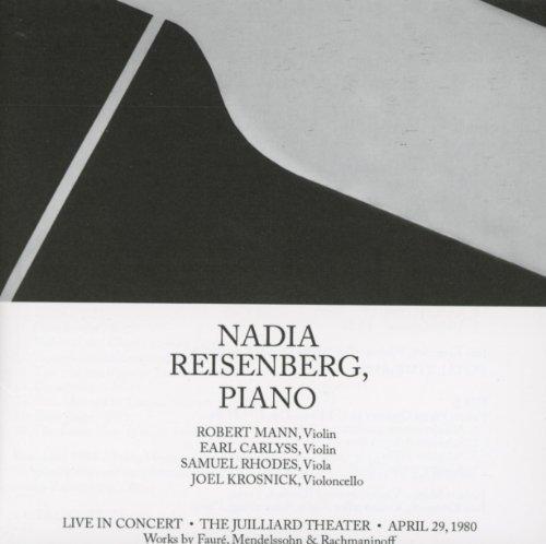 Mendelssohn: Trio No. 1 / Rachmaninoff: Cello Sonata / Fauré: Piano Quartet by N/A (2012-11-27) (Faure-cello Sonata)