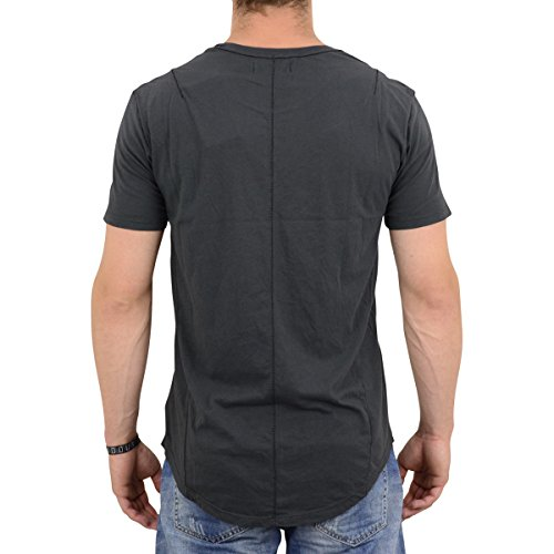 Religion Herren T-Shirt Wick Scarstitch dunkel grau - fällt normal aus, figurbetont geschnitten Dark Metal