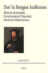 Sur la langue italienne
