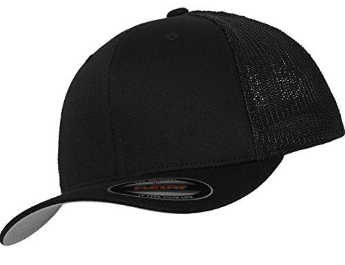 Damen Herren Unisex Entrap Trucker Cap schwarz Snapback Hut Accessoires