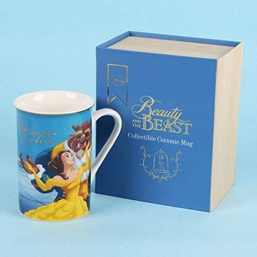 Taza de La Bella y la Bestia de Disney con caja de regalo