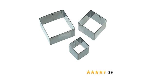 3-tlg SET Ausstechform Schmetterling Metall Plätzchenausstecher Kitchen Craft