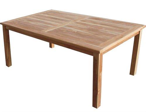 """KMH®, Teak Gartensitzgruppe """"Classic"""" mit 180 cm langem Tisch für 6 Personen (#102204) - 2"""