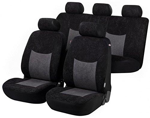 Preisvergleich Produktbild Timon 75192, Autositzbezug Schonbezug, Komplett Set, Schwarz, Anthrazit
