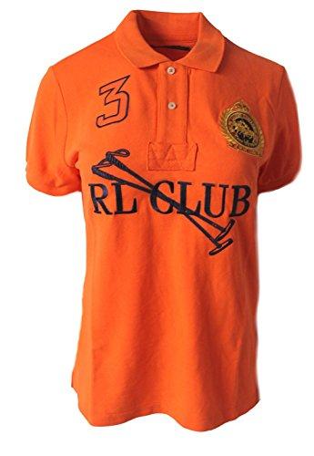 Polo_Ralph Lauren Damen Poloshirt Gr. X-Small, Orange