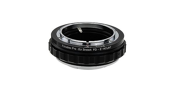 Fotodiox Dlx Stretch Lens Mount Adapter Canon Fd Fl Kamera