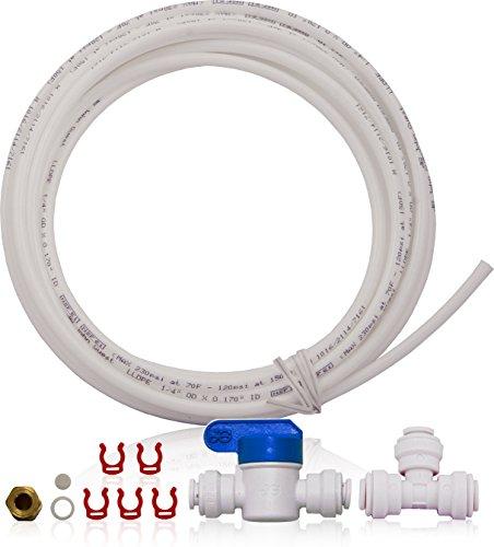 apec Wassersysteme icemaker-kit-ro-1-4Ice Maker Kit für Umkehrosmose Systemen, Kühlschrank & Wasser Filter (Kühlschrank-filter-kits)