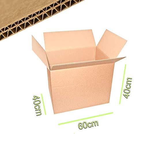Palucart scatola di cartone doppia onda 10 scatole di cartone 60x40x40 cartone per imballaggi trasloco spedizioni scatole cartone scatoli di cartone