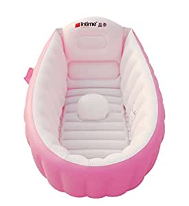 signstek baignoire gonflable piscine gonflable bassine pour enfant et b b rose. Black Bedroom Furniture Sets. Home Design Ideas